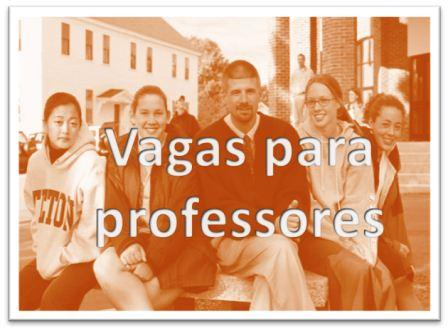 11 Vagas para professores